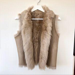 Joie fur vest in size xs